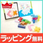 エドインター [知の贈り物] 立体パズル 知育玩具 木製