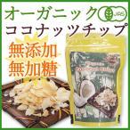 <有機JAS・無添加><br>オーガニックココナッツチップス ロースト 100g/砂糖不使用・無漂白・ノンフライ