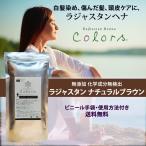 ヘナ ヘアカラー白髪染め お試し ラジャスタン ナチュラルブラウン 自然な黒茶色 100g 無添加 送料無料