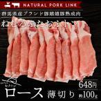 熟成肉 豚肉 おふトンロース肉 薄切り 嬉嬉豚 (約100g)(しゃぶしゃぶ すき焼き 鍋 選べるスライス)