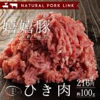 NATURAL PORK LINKで買える「豚肉 ひき肉 嬉嬉豚 (100g)」の画像です。価格は216円になります。