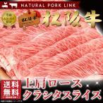 すき焼き 松阪牛 しゃぶしゃぶ A5A4 上肩ロース クラシタスライス 400g  お歳暮 ギフト 黒毛和牛 牛肉