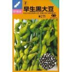 【種】 早生黒大豆 枝豆の種 40ml (郵便配送商品)