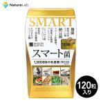 サプリメント スベルティ SVELTY スマート菌 120粒 | 乳酸菌 菌活 キダチアロエ 桑の葉 紅茶 えのきたけ パックン 美容 サプリ 栄養 補助 健康 食品