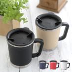 ステンレスマグカップ マグカップ 保温 保冷 フタ付き 蓋付き ステンレス thermo mug サーモマグ  DOUBLE MUG ダブルマグ ポイント消化