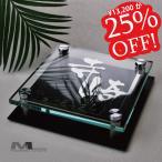 Yahoo!MODELLOLUXURYガラス表札「フレグランス」エレガントに、気品の香るおしゃれなデザイン 漢字 ローマ字 玄関 門柱