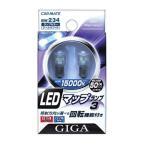 外装パーツ カーメイト GIGA LEDマップランプ3 15000K 50ルクス G14タイプ 12V車用 室内灯専用 クールホワイト光