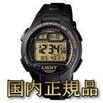 時計 カシオ 【国内正規品】W-734J-9AJF ブラック