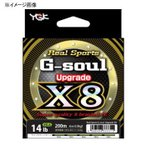 ルアー用PEライン よつあみ リアルスポーツ G-soul X8 アップグレード 200m 1号/22lb
