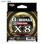 ルアー用PEライン よつあみ リアルスポーツ G-soul X8 アップグレード 200m 1.2号/25lb