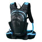 ショッピングバックパック デイパック・バックパック アシックス ランニングバックパック6 6L 9045(ブラック×ブルー)