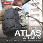 ショッピングバック デイパック・バックパック コールマン(Coleman) 【ATLAS/アトラス】アトラス23/ATLAS23 23L ブラック