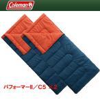 封筒型 コールマン(Coleman) パフォーマーII/C5 ×2【お得な2点セット】 ネイビー×バーミリオン