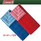 封筒型 コールマン(Coleman) コージー/C5 ×2【お得な2点セット】 ネイビー×レッド