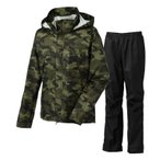 アウトドアレインウェア コロンビア Grass Valley Patterned Rainsuit Men's M 213(Peatmoss Camo)