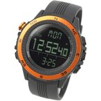 時計 ラドウェザー SENSOR MASTER(センサーマスター) オレンジ×反転液晶