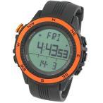 時計 ラドウェザー SENSOR MASTER(センサーマスター) オレンジ×通常液晶