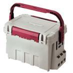 タックルボックス メイホウ バケットマウス BM-9000 35L オフホワイト×ワインレッド