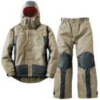 ショッピングレインウェア アウトドアレインウェア ロゴス 防水防寒スーツ プロップ L 60(サンド)