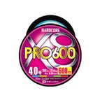 ルアー釣り用PEライン デュエル HARDCORE X8 PRO(ハードコア X8プロ) 600m 6.0号 5色マーキング