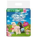 犬用トイレ用品 ユニチャーム マナーウェア 女の子用 超小〜小型犬用 ピンクリボン・青リボン 38枚 SS