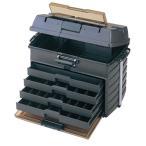 ショッピングブラックボックス タックルボックス メイホウ VS-8050 スモークブラック