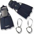 フローター本体 リバレイRL RLフローターフィン+セーバーセット フリーサイズ ブラック