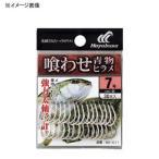 船釣り用品 ハヤブサ 小袋バラ鈎 喰わせ青物・ヒラメ 8号 白
