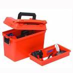タックルボックス プラノ PLANO 1612-50 FIELD BOX SHELL CASE オレンジ
