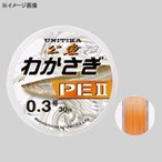 淡水用ライン ユニチカ わかさぎPE II 30M 0.3号 ライトオレンジ