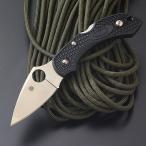 アウトドアナイフ スパイダルコ ドラゴンフライ2 FRN(直刃) ブラック