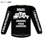 フィッシングウェア ボンバダアグア A Alma Do Pescador ロングスリーブ L ブラック