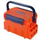 タックルボックス メイホウ バケットマウスBM-5000 20L オレンジ