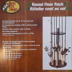 バスプロショップ Round Floor Rack(ラウンドフロアラック) 16本収納 チェリー