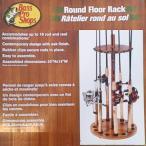 バスプロショップ Round Floor Rack(ラウンドフロアラック) 16本収納 オーク