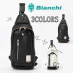 Bianchi ビアンキボディバッグ 斜め掛けバッグ ワンショルダーバッグ 大容量 メンズ レディース 男女兼用