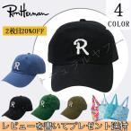 ロンハーマン RHC Ron Herman R CAP キャップ BLACK ブラック 帽子 男女兼用 ヘッドウェア ギフト/プレゼント 父の日