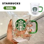 STARBUCKS スターバックス ギフト マグカップ コーヒー グッズ 耐熱グラスマグ ロゴ おすすめ シンプル おしゃれ 透明 父の日 ギフト送料無料