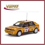 VITESSE/ビテス ランチア デルタ HF インテグラーレ 16V 1990年 Lombard RAC Rally#14 1/43 42411