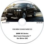 BMW カーナビ・テレビアンロックソフト X6シリーズ
