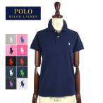 【メール便送料無料】SALE ラルフローレン レディース ポニーワンポイント刺繍 クラシックフィット ポロシャツRalph Lauren Skinny Fit Polo Shirtメール便可