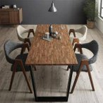 ダイニング テーブル セット 4人用 椅子 ダイニングテーブル おしゃれ 安い 北欧 食卓 ( 5点(机+チェア4脚)WBR幅150 )