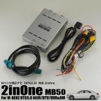 GLCも対応!Mベンツ(W222/W205/W447)にリアモニターが接続可能。走行中にテレビが映る2inOneインターフェイス