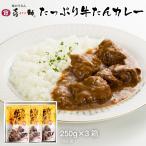 【送料無料】仙台喜助 牛たんカレー 250g×3袋