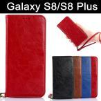 ショッピングGALAXY Galaxy S8/S8 plus(SC-02J/SCV36/SC-03J/SCV35) スマホスケース 携帯ケース 手帳型 革製 カード収納 Galaxyケース ギャラクシーS8 レザーケース Galaxy S8