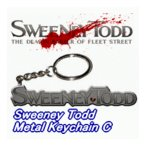 US版NECA SWEENEY TODDスウィーニートッド 『Keychain D』キーチェーン
