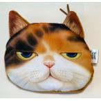 財布 小銭入れ ポーチ 番長猫顔 インパクト大 大うけ