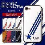 iPhone7 iPhone7plus ケース アイフォン7 アイフォン7プラス 耐衝撃 ハード 衝撃吸収 ブランド 背面 メンズ レザー シンプル 革 ケース ICカード D-SPORT