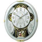 からくり時計 ミッキー&フレンズ M509 電波壁掛け時計 電波からくり時計