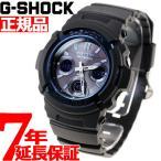 ショッピングShock 本日限定ポイント最大16倍! G-SHOCK Gショック ジーショック g-shock gショック 電波ソーラー AWG-M100A-1AJF